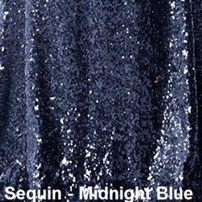 Midnight Blue Sequins